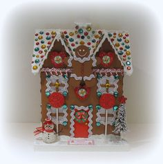 Gingerbread House, Christmas Decoration, Gingerbread Cottage, Gingerbread, Christmas, Christmas Gift, Holiday Decor, Christmas Box