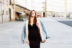 El 'bodycon dress' en versión invierno- Martina Lubian
