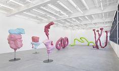 Artist: Franz West (Austrian, 1947–2012) Title: Exhibition View Catalogue: Franz West 'Der definierte Raum', Friday, April 15, 2011–Saturday, May 21, 2011