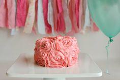 "Modern Day Homemaker: ""Healthy"" First Birthday Cake"