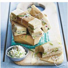Mini club Sandwich au crabe et chèvre #Mavieencouleurs
