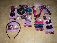 Scunci 9 new Packages Sold Package All New Brand Scunci by jewelspassport on Etsy