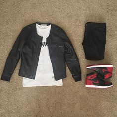 Urban Fashion, Men's Fashion, Outfit Grid, Nike Air Jordans, Young Fashion, Tomboy, Streetwear Fashion, I Dress, Gq