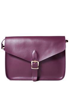 Angela and Roi Purple Cross-Body Bag