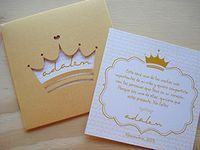 Double-sided printed card with openwork envelope – Wedding Favors Sweet Fifteen, Sweet 15, Quince Invitations, Wedding Invitations, Paris Invitations, Wedding Cards, Wedding Favors, Prince Party, Ideas Para Fiestas