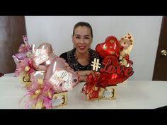 Candy Bouquet, Balloon Bouquet, Balloon Garland, Balloon Decorations, Valentine's Day Flower Arrangements, Candy Arrangements, Valentines Flowers, Valentines Diy, Valentine Day Gifts