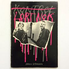 """""""Lort Nork by Soren Svendson. This book equals brilliance. 1981 Danish / world class punk and new wave photobook and ever so rare. Email if you want@idea-…"""""""