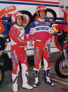 King David Thorpe and Eric Geboers 1987 | by Tony Blazier