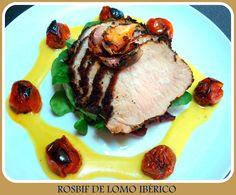 Rosbif de Lomo Ibérico (con video-receta)
