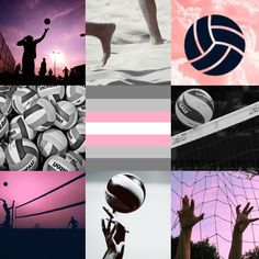 Volleyball Demigirl Aesthetic