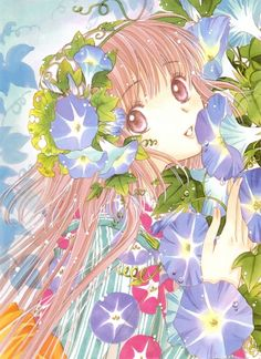 """CAN WE TALK ABOUT HOW INCREDIBLY GORGEOUS THE ARTWORK FROM """"CLAMP"""" IS?"""