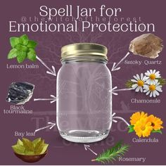 Jar Spells, Luck Spells, Nature Witch, Witch Bottles, Witchcraft Spell Books, Witchcraft For Beginners, Hedge Witch, Herbal Magic, Witch Spell