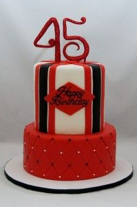 birthday cake 45 year old