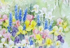 Watercolor tips for painting flowers