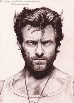 Hugh Jackman by Kirby