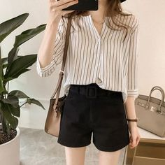 Summer Fashion Tips .Summer Fashion Tips Basic Outfits, Edgy Outfits, Korean Outfits, Mode Outfits, Cute Casual Outfits, Short Outfits, Simple Outfits, Fashion Outfits, Hijab Fashion