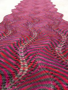 Shetland Ruffles Shawl By Kieran Foley - Purchased Knitted Pattern - (ravelry)