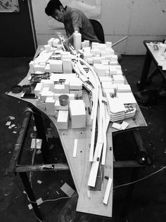 Architecture Model / BIG Architecture renewal proposal, 2014 / By Max Zhong