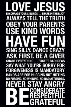 Kid rules! perhaps the playroom