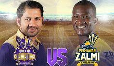 PSL 2017: Final Match Quetta Gladiators vs Peshawar Zalmi Live Streaming, Highlights, Result