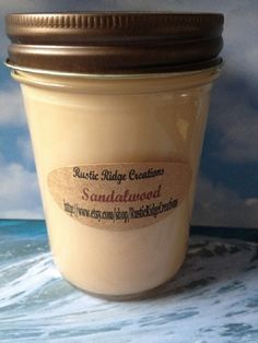 Sandalwood Aroma Therapy Soy Candle by RusticRidgeCreations, $6.50