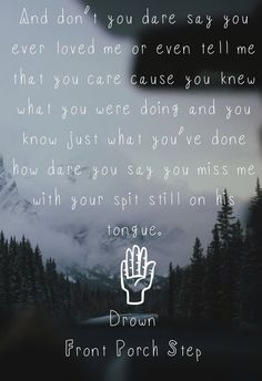 Front Porch Step is honestly one of the most amazing artists i have ever discovered.  His music is relatable and his voice is perfection and he makes me so happy.
