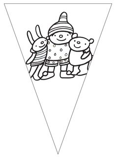Uk & Puk | Leuke vlaggetjes van Uk en Puk! | Zwijsen Psg, Friendship, Education, Kids, Young Children, Boys, Children, Onderwijs, Learning