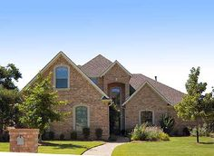 Plan W36328TX: Photo Gallery, Traditional, Corner Lot House Plans & Home Designs