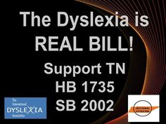 "A Letter to My Teacher Friends about ""Dyslexia is Real"" HB1735 / SB2002"
