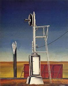 Lewandoski Precisionism art 1930-