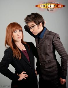 The Nerdy Girlie: Allons-y! A Chat With The Hillywood Show