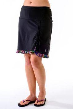 21680109d5b Spirit Ruched Swim Skirt Boy Shorts
