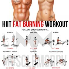 BURN FAT With with this HIIT workout LIKE/SAVE IT if you found this useful. FOLLOW @musclemorph_ for more exercise & nutrition tips .…