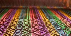 Turned Overshot #weaving #overshot