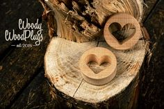 Pair Ear plugs - wooden ear plugs - heart plugs - ear gauges from 5/8 18 mm 3/4 20 mm 7/8 24 mm 1 26 mm 30 mm 1.25 34 mm 36 mm 1.5  Double flared plugs  Sizes avaible: 16 mm - 5/8 18 mm - 11/16 19 mm - 3/4 20 mm - 13/16 22 mm - 7/8 24 mm - 15/16 25 mm - 1 26 mm - 1.024 28 mm - 1.10 30 mm - 1.18 32 mm - 1.25 34 mm - 1.33 36 mm - 1.41 38 mm - 1.5 40 mm - 1.57  Larger sizes available upon request  The plug's thickness is 11 mm(7/16), the distance between flares is 8 mm(0G). The parameters may…