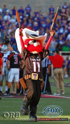 Raider Red, Texas Tech... Wreck 'Em!  R.S.