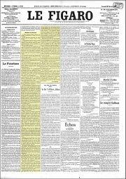 El Manifeste du Futurisme de Marinetti con el que se inicio el futurismo, fue publicado el 20 de febrero de 1909 en el diario francés Le Figaro.