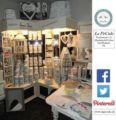 September 2014. Begin VerfSalon #AnnieSloanChalkPaint™ Stockist La PéCule in Hardinxveld-Giessendam, Zuid-Holland - NL <3 Meer info? www.lapecule.nl
