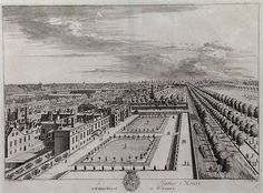 St James's Palace and The Mall Kip 1715 - St James's Palace - Wikipedia, the free encyclopedia St James's Palace, Palace London, Vintage London, Old London, Historical Architecture, Architecture Plan, Royal Residence, British Royal Families, Saint James
