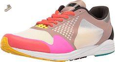 adidas by Stella McCartney Women's Adizero Takumi Sneakers, Dusk Pink/Pour Grey/Shock Pink, 6 B(M) US - Adidas sneakers for women (*Amazon Partner-Link)