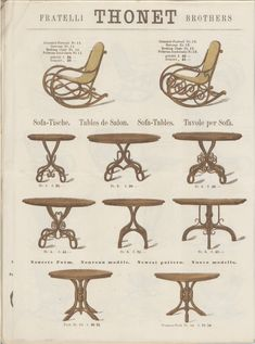 Thonet – Variety of Products – Museum Boppard Vintage Furniture, Diy Furniture, Furniture Design, Berlin Zehlendorf, Table Sketch, Interior Design History, Spooky Stories, Bentwood Chairs, Museum