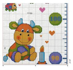 metro crescita animali colorati 6/9 Google Drive, Cross Stitch Baby, Cross Stitch Patterns, Minnie Baby, Baby Dragon, Nursery Themes, Baby Quilts, Diy And Crafts, Kids Rugs
