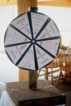 Kissing Game Spin Wheel