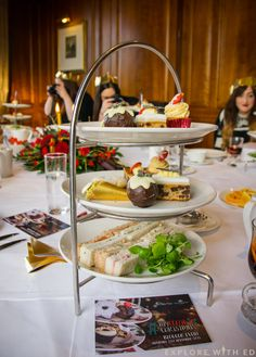 Christmas Afternoon Tea at The Celtic Manor, Olive Tree Restaurant.   #AfternoonTea #FestiveFood #Christmas #Cakes