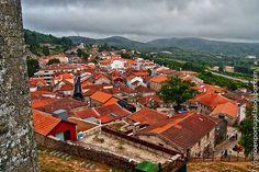 Vista de Montalegre desde el Castillo.