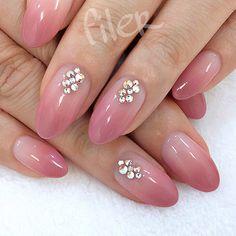 110 Short Acrylic Nail Art Design Ideas for Girls in Love Pink Acrylic Nails, Acrylic Nail Art, Acrylic Nail Designs, Nail Art Designs, Bling Nails, Stiletto Nails, Coffin Nails, Nails Today, Nail Jewels