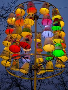 Amsterdam Light Festival 2012. DSC_7362 by Joop Reuvecamp, via Flickr Outdoor Art, Outdoor Lighting, Amsterdam, Festivals Around The World, Festival Lights, Stage Design, Festival Decorations, Land Art, Interior Exterior