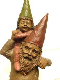 A personal favorite from my Etsy shop https://www.etsy.com/listing/523438789/tom-clark-1983-gnome-papa-princess
