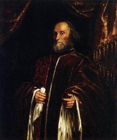 Portrait of a Senator, 1580 - Tintoretto. Museo Thyssen-Bornemisza. Madrid
