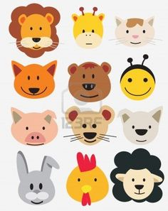 animals in circles - Google Search